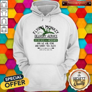 Flying Monkey Delivery Service Your Little Dog Too Hoodie