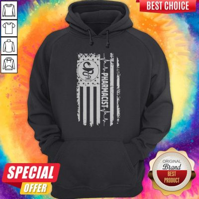 Funny Independence Day Pharmacist Beat Hoodie