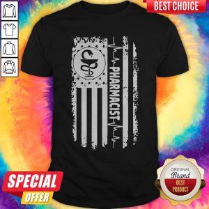 Funny Independence Day Pharmacist Beat Shirt