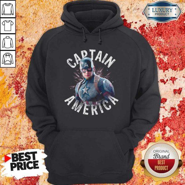 Marvel Avengers Endgame Captain America Hoodie
