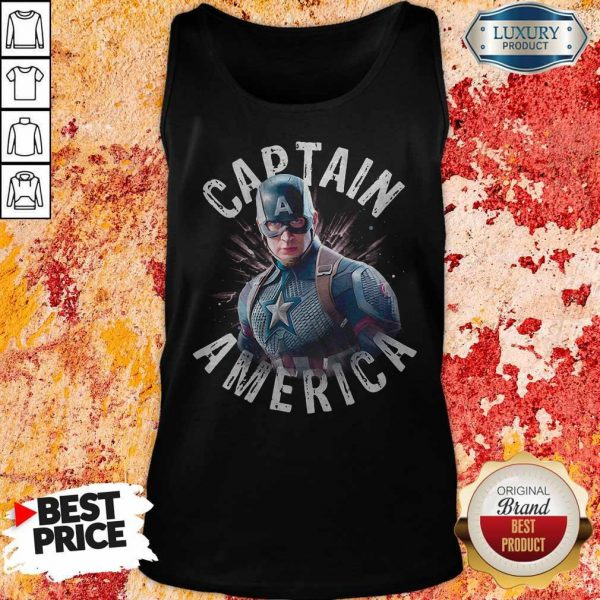 Marvel Avengers Endgame Captain America Tank Top