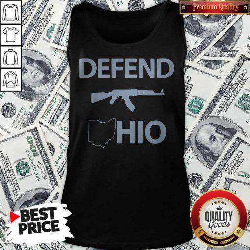 Nice Defend Ohio Tank Top