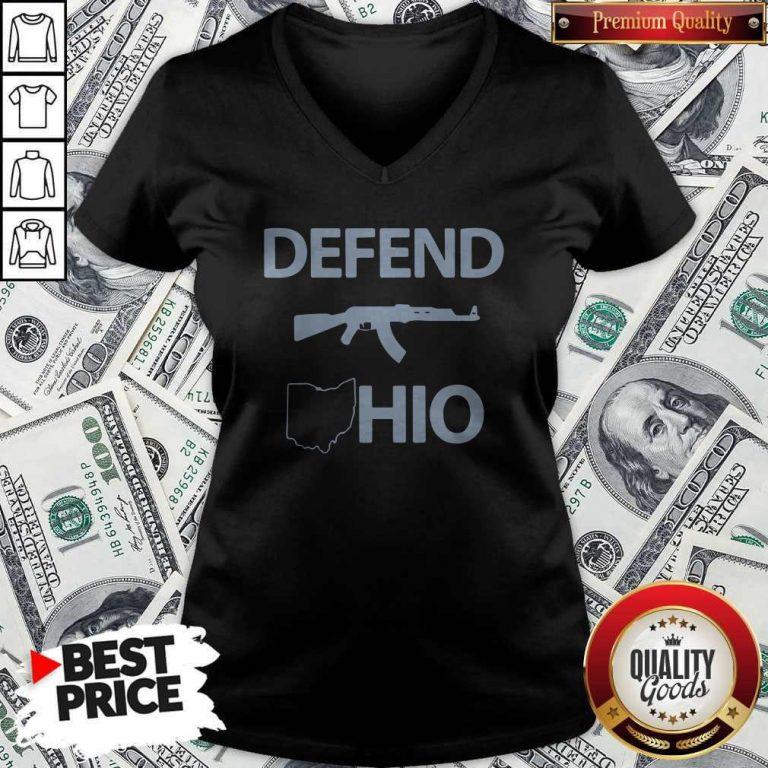 Nice Defend Ohio V-neck