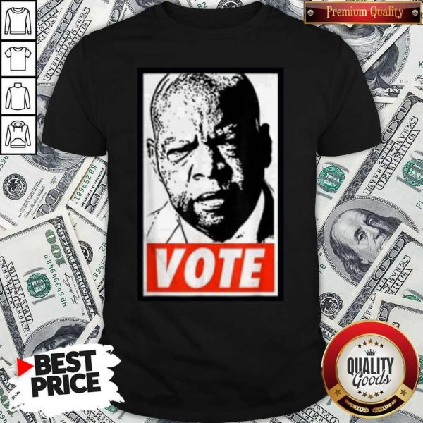 Nice Details about John Lewis Vote Shirt