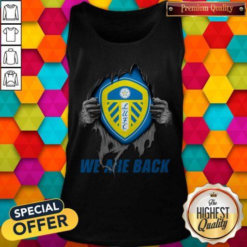Nice Leeds United We Are Back Tank Top