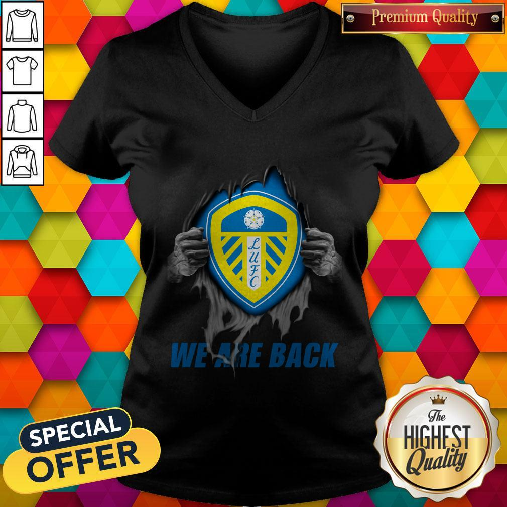 Nice Leeds United We Are Back V-neck