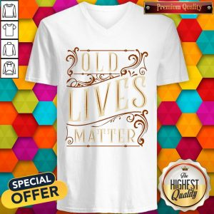 Nice Old Lives Matter V-neck