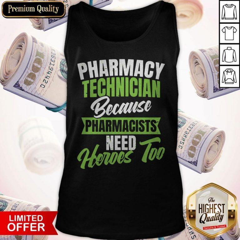 Nice Pharmacy Tech Tank Top