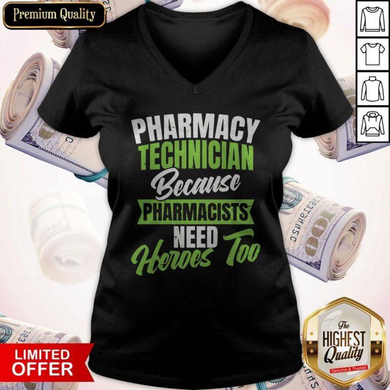 Nice Pharmacy Tech V-neck
