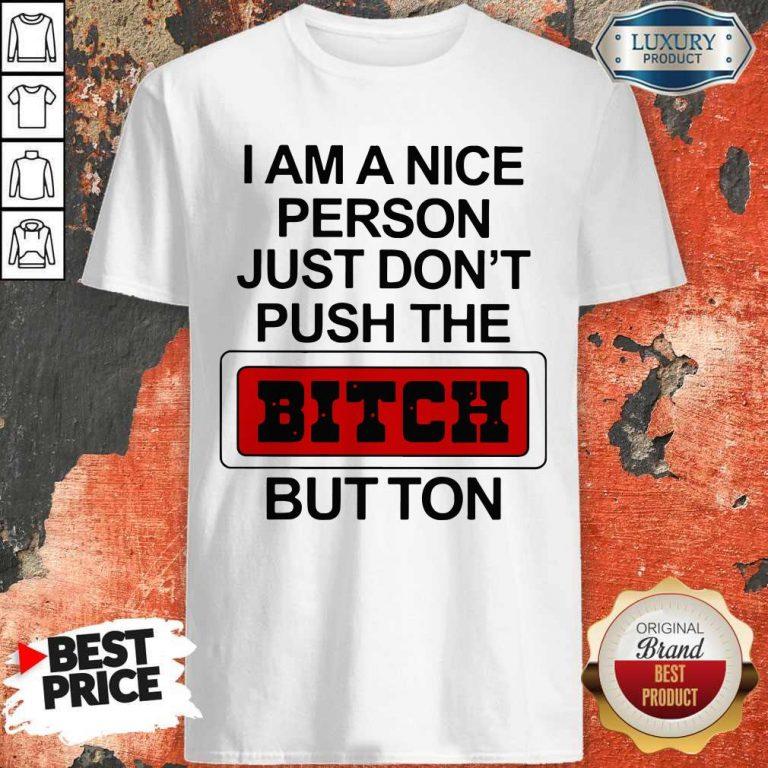 Premium I Am A Nice Person Shirt