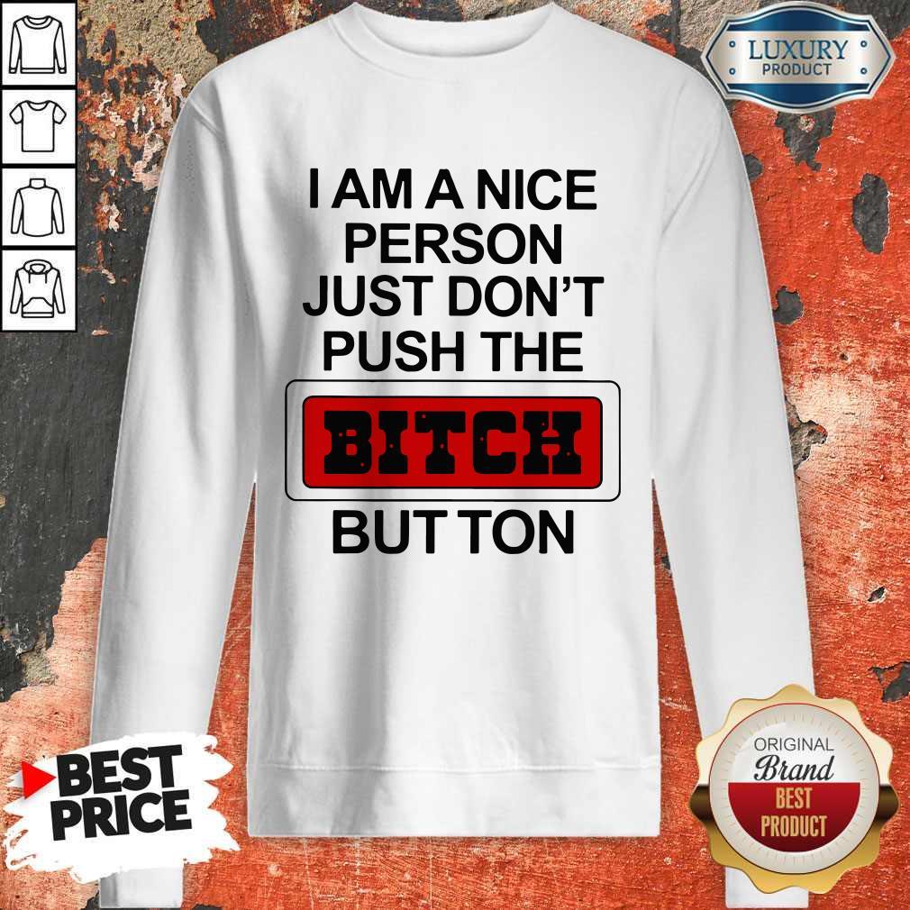 Premium I Am A Nice Person Sweatshirt