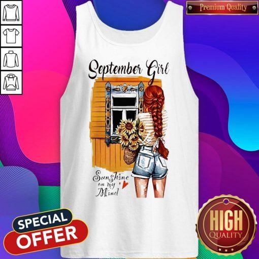 September Girl Sunshine On My Mind Tank Top