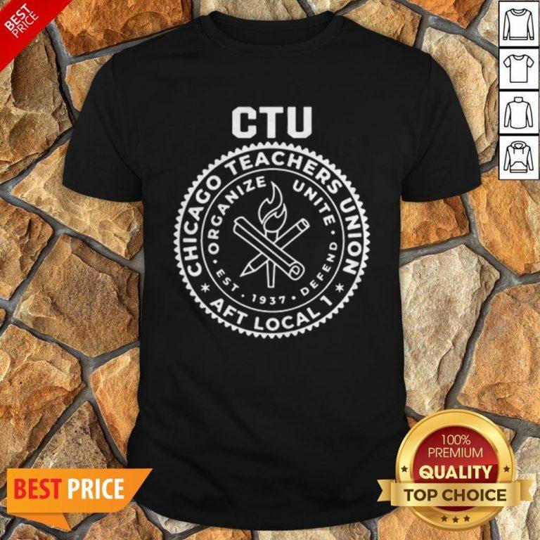 Chance The Rapper Chicago Teachers Union Tee Shirt