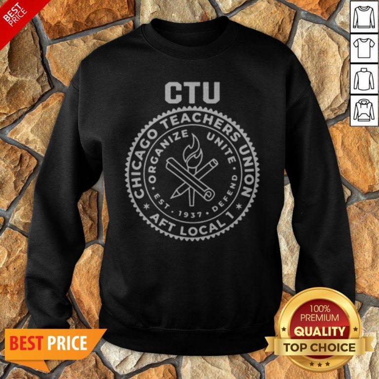 Chance The Rapper Chicago Teachers Union Tee Sweatshirt