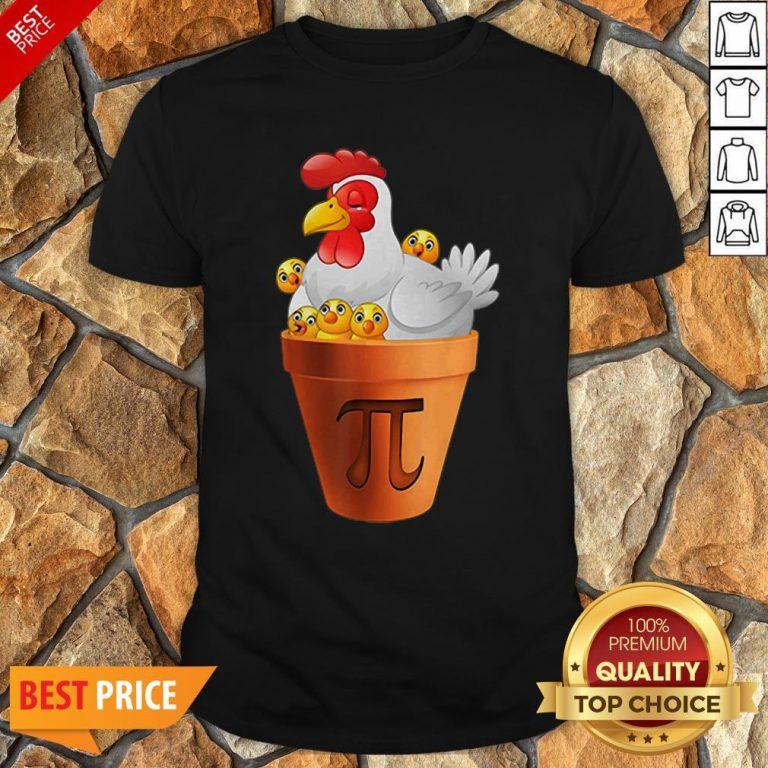 Chicken Pot Pie Day Math Teacher Student Shirt