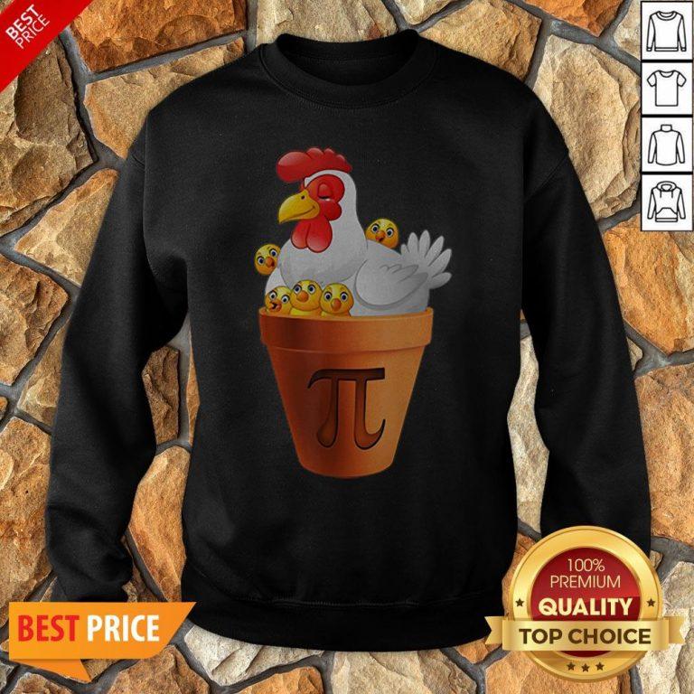 Chicken Pot Pie Day Math Teacher Student Sweatshirt