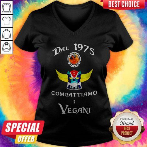 Dal 1975 Combat Tiamo I Vegan V-neck