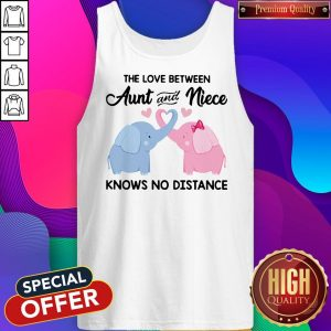 Elephant The Love Between Aunt And Niece Knows No Distance Tank Top