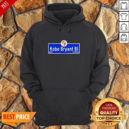 Kobe Bryant BI City Of Los Angeles Founded 1781 Hoodie