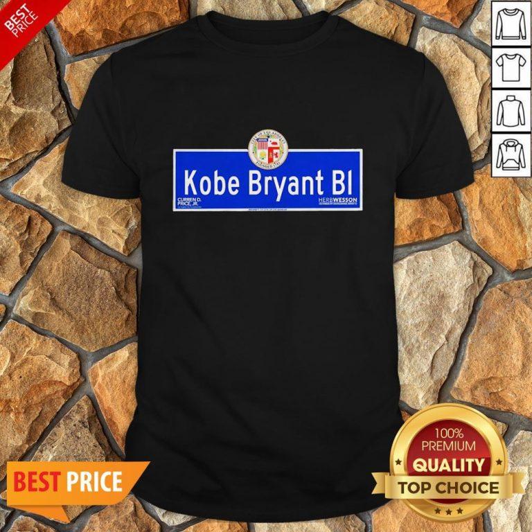 Kobe Bryant BI City Of Los Angeles Founded 1781 Shirt