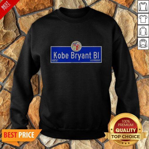 Kobe Bryant BI City Of Los Angeles Founded 1781 Sweatshirt