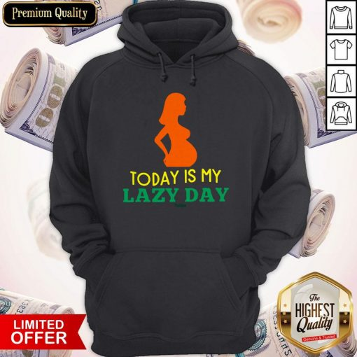 Lazy Mom'S Day Mother'S Lazy Woman Women'S Plus Size Hoodie