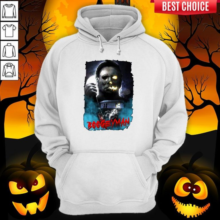 Michael Myers Boogeyman Happy Halloween Hoodie
