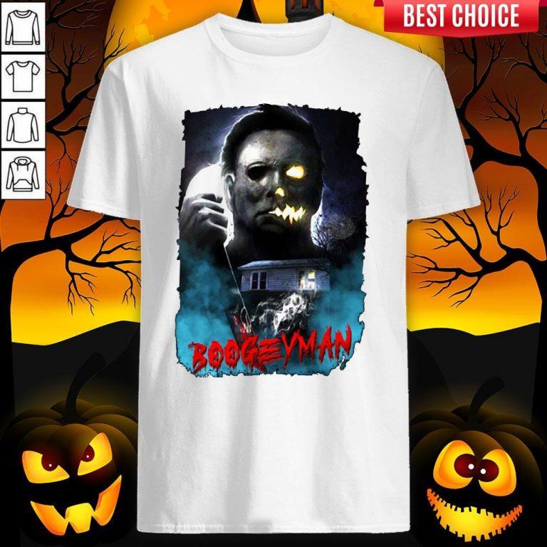 Michael Myers Boogeyman Happy Halloween Shirt