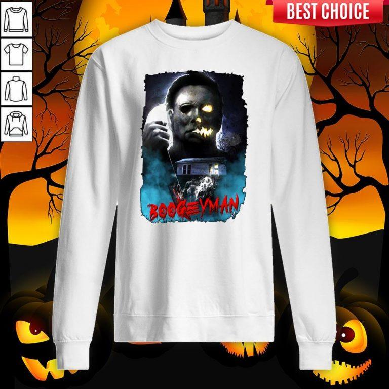 Michael Myers Boogeyman Happy Halloween Sweatshirt
