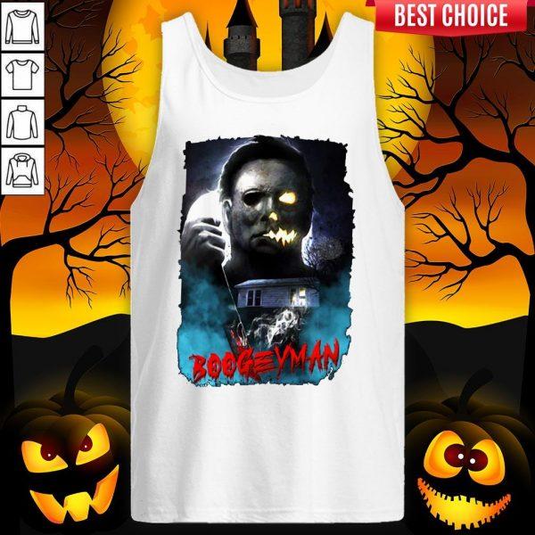 Michael Myers Boogeyman Happy Halloween Tank Top