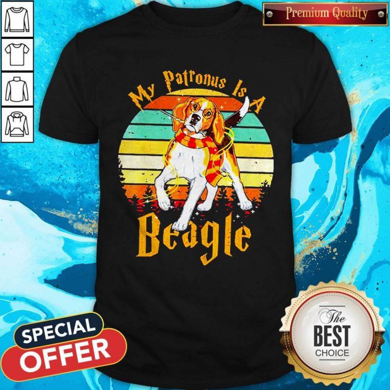 My Patronus Is A Beagle Vintage Shirt