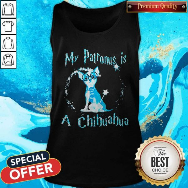 My Patronus Is A Chihuahua Tank Top