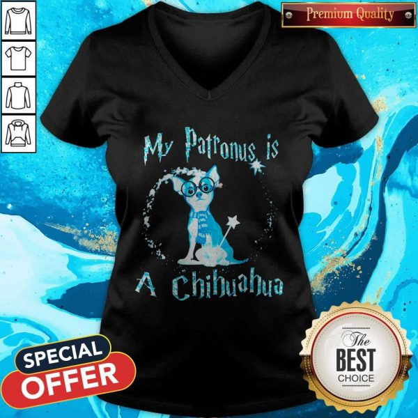 My Patronus Is A Chihuahua V-neck