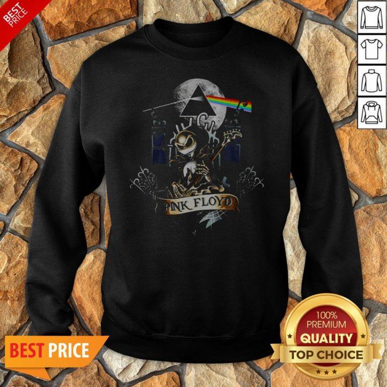 Nice Jack Skellington Pink Floyd Sweatshirt
