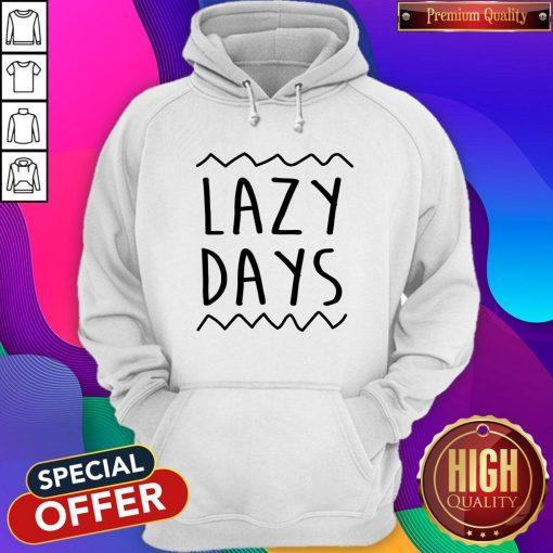 Nice Lazy Days Men's Organic Hoodie