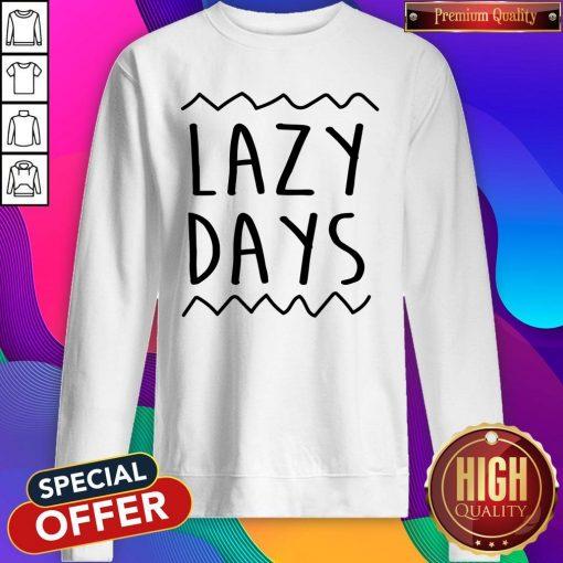 Nice Lazy Days Men's Organic Sweatshirt