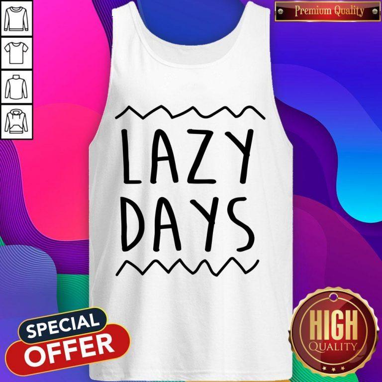 Nice Lazy Days Men's Organic Tank Top