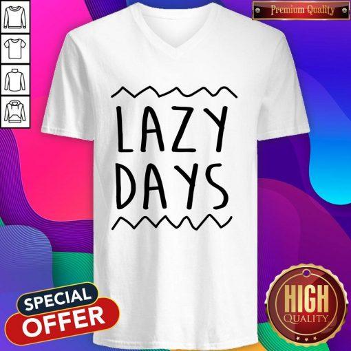 Nice Lazy Days Men's Organic V-neck