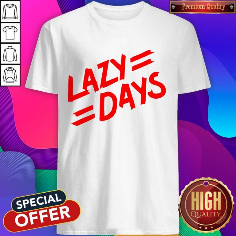 Nice Lazy Days Unisex Tie Dye T-Shirt