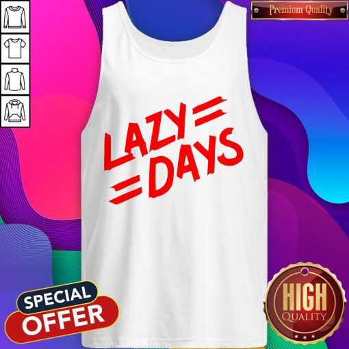 Nice Lazy Days Unisex Tie Dye Tank Top