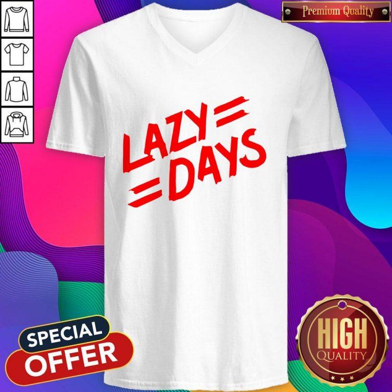 Nice Lazy Days Unisex Tie Dye V-neck