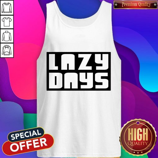 Nice Lazy Days Unisex Tri-Blend Tank Top