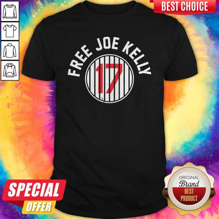 Nice Los Angeles Dodgers 17 Free Joe Kelly Shirt