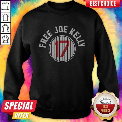 Nice Los Angeles Dodgers 17 Free Joe Kelly Sweatshirt