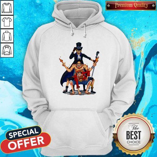 Nice One Piece Characters Hoodie