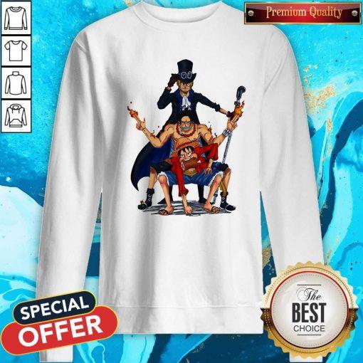 Nice One Piece Characters Sweatshirt