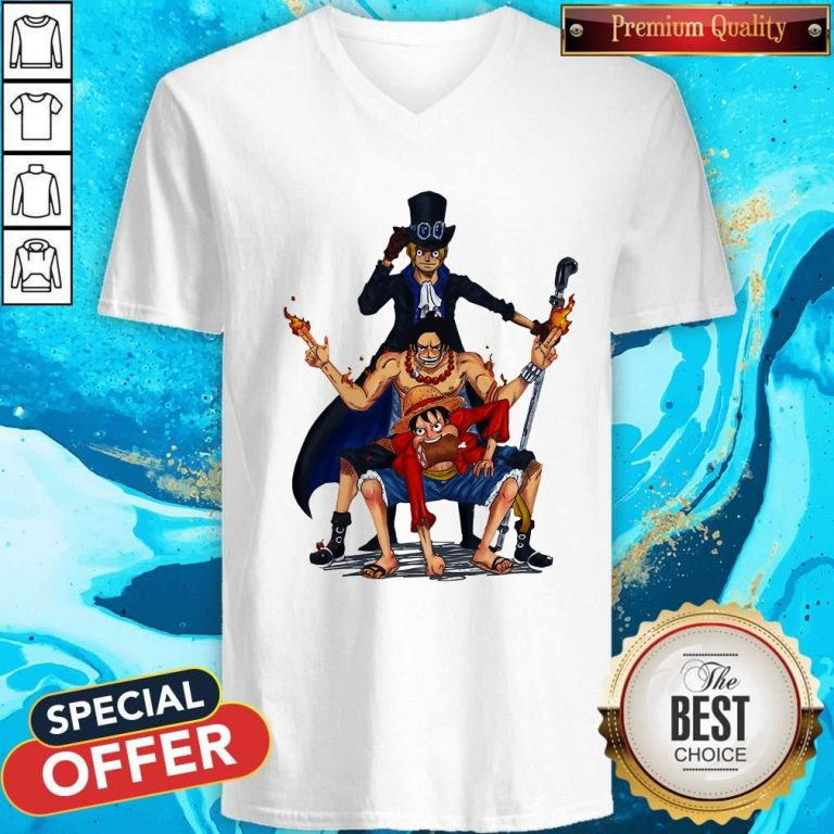 Nice One Piece Characters V-neck