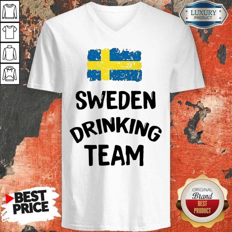 Nice Sweden Drinking Team Tank Top