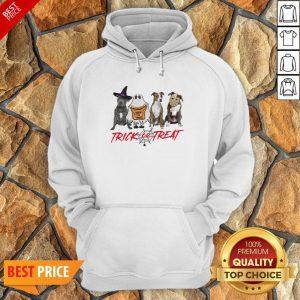 Nice Terrier Dog Trick Or Treat Hoodie