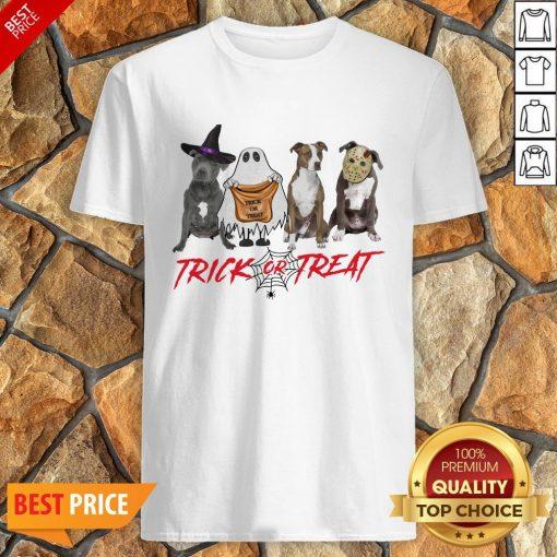Nice Terrier Dog Trick Or Treat Shirt